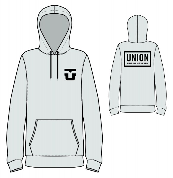 Union Team Hoodie Heather Grey 2020