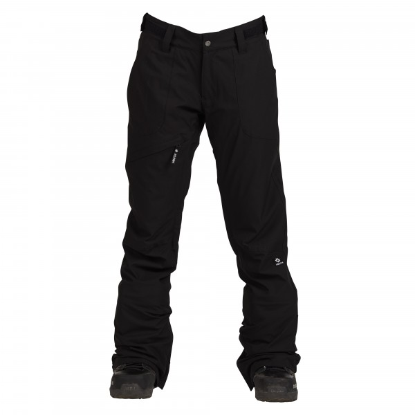 Nikita White Pine Stretch snowboardbroek black