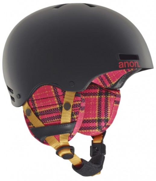 Anon Rime helm flannel black