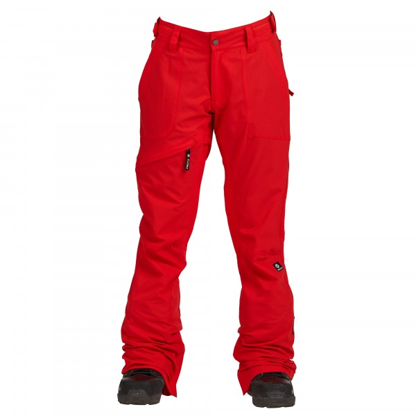 Nikita White Pine Stretch snowboardbroek red