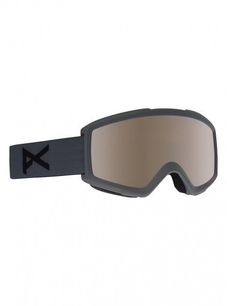 Anon Helix 2.0 goggle stealth / silver amber (extra amber lens)